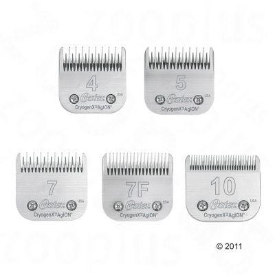 Terät Oster-trimmauskoneisiin - Nr. 7 (pituus 3,2 mm, Skip Tooth)