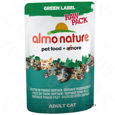 almo-nature-green-label-raw-in-pouches-kattenvoer-6-x-55-g-kippenpoot