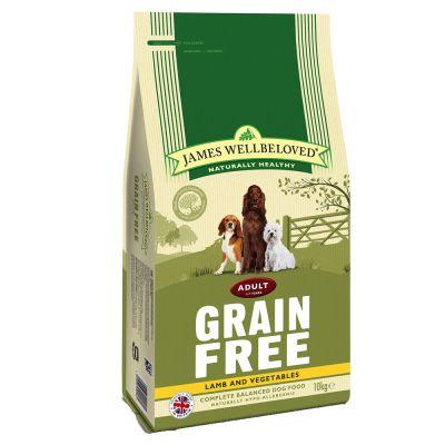 James Wellbeloved Adult Grain-Free - Lamb & Vegetable - 10 kg