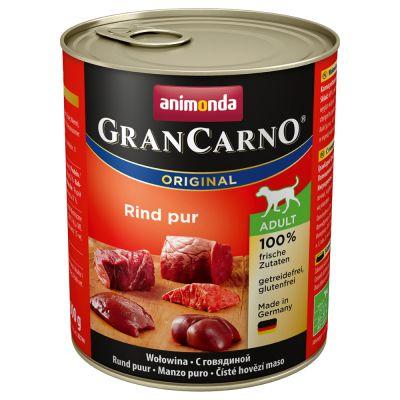 Animonda GranCarno Original Adult 6 x 800 g - mix 1, 6 makua