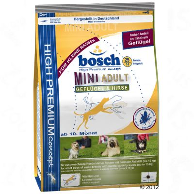 Bosch Adult Mini Poultry & Millet – 3 kg