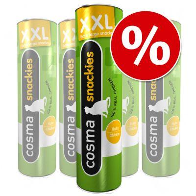 Ekonomipack: Cosma Snackies XXL – Tonfisk 5 x 25 g
