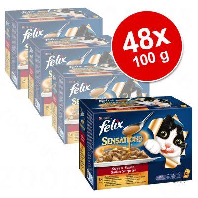 felix-sensations-in-saus-kattenvoer-voordeelpak-48-x-100-g-vleesvariatie