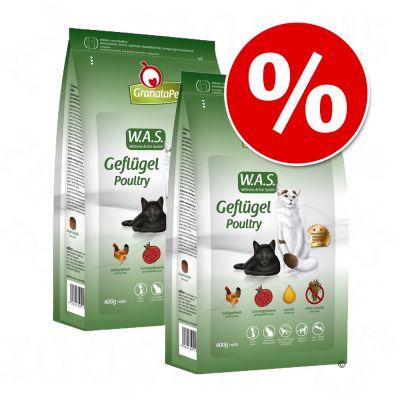 Ekonomipack: GranataPet kattfoder 2 x 10 kg till lågt pris! – Adult Räkor