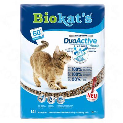 Biokats Duo Active Classic – Ekonomipack: 2 x 14 l