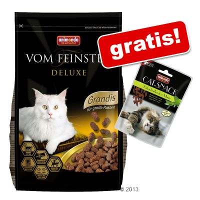 10 kg Animonda vom Feinsten + Animonda Cat Snack på köpet! – Grandis