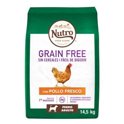 Nutro Grain Free Adult Pollo para perros - 2 x 14,5 kg - Pack Ahorro