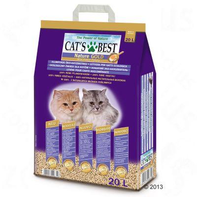 Cat's Best Nature Gold kattsand – 20 l
