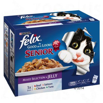 felix-senior-elke-dag-feest-kattenvoer-gemengde-selectie-12-x-100g