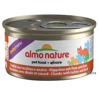 Almo Nature Daily Menu 6 x 85 g – Mousse med oceanfisk