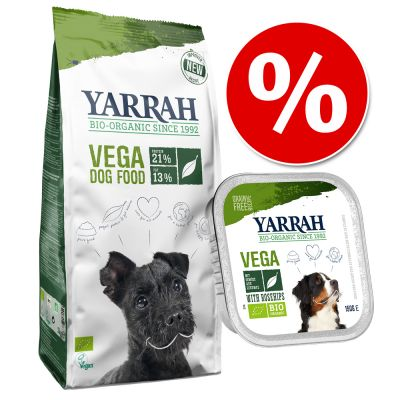 Kasvisruokapaketti: 10 kg kuivaruokaa + 12 x 150 g märkäruokaa – 10 kg + 12 x 150 g
