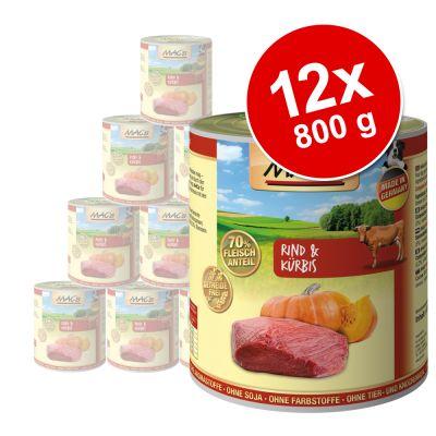 MAC's Adult -säästöpakkaus 12 x 800 g - pään liha & porkkana