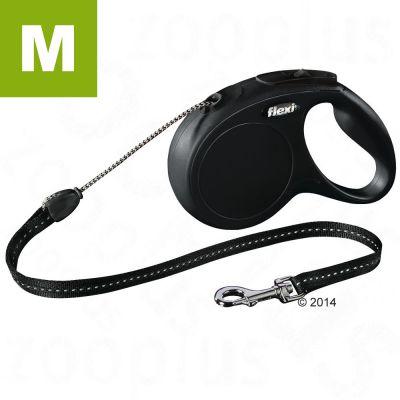 flexi New Classic M 8m - nyöri - musta