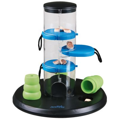 intelligentiespeelgoed-dog-activity-gambling-tower-o-25-cm-x-h-27-cm