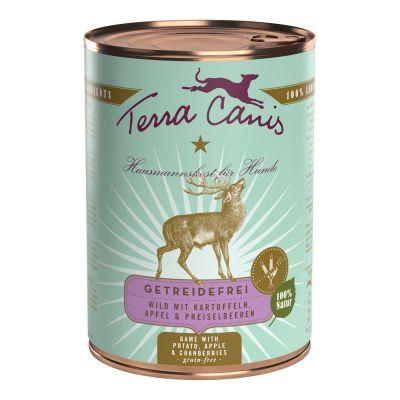Terra Canis Getreidefrei 1 x 400 g - Rind mit Zucchini, Kürbis und Oregano