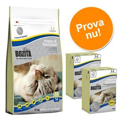Provpack: 400 g Bozita + 2 x 190 g Bozita! – Hair & Skin – Sensitive ((torr + våt)