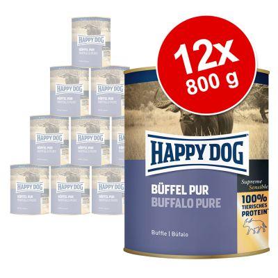 Happy Dog Pur 12 x 800 g - lammas