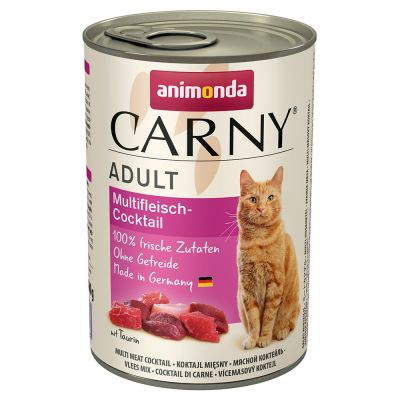 Multipack Animonda Carny Adult 12 x 400 g