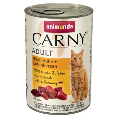 Mixpack Animonda Carny Adult 12 x 400 g