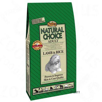 Nutro Choice Adult Large Breed Lamm & ris – 12 kg