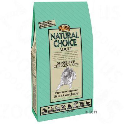 nutro-choice-adult-sensitive-kip-rijst-hondenvoer-12-kg