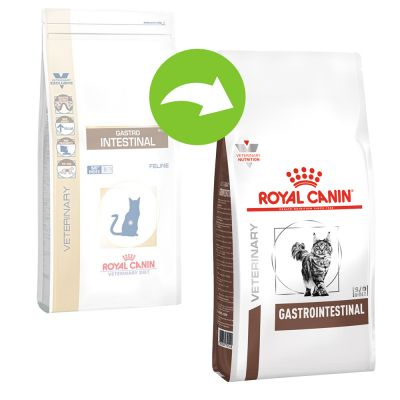 Royal Canin Gastro Intestinal Veterinary Diet pienso para gatos -  2 x 4 kg - Pack Ahorro