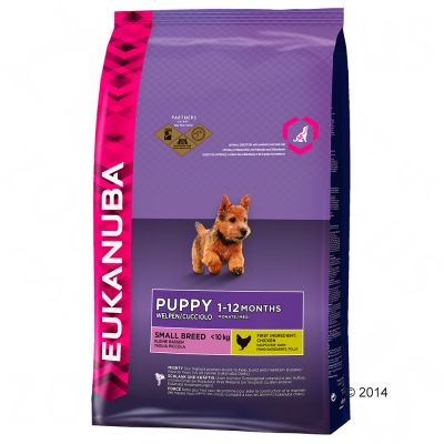 eukanuba-puppy-small-breed-kylling-okonomipakke-2-x-75-kg