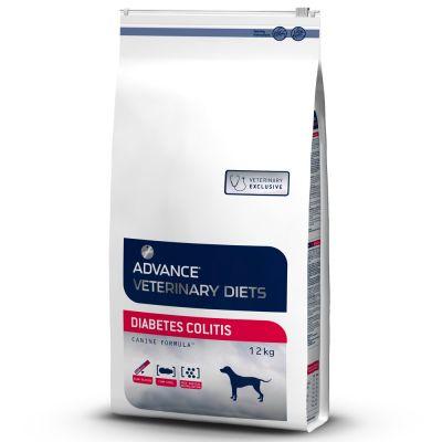 Advance Veterinary Diets Diabetes Colitis Hondenvoer - 12 kg