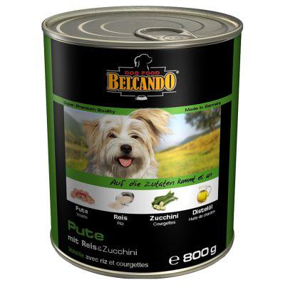 Levně Belcando Super Premium 12 x 800 g - kuřecí a kachní s prosem a karotkou