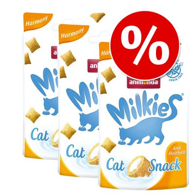 Animonda Melksnacks in Voordeelpakket! - Gemengd pakket (Dental Care, Anti Hairball & Milkies Selection)