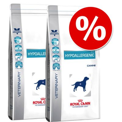 Royal Canin Veterinary Diet -säästöpakkaus - 2 x 14 kg Gastro Intestinal Moderate Calorie GIM 23