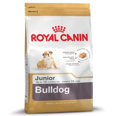 Royal Canin Bulldog Junior – 12 kg