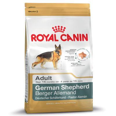 Royal Canin German Shepherd Adult – 12 + 2 kg på köpet!