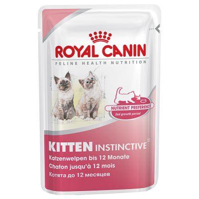 Royal Canin Kitten Instinctive w sosie - 24 x 85 g