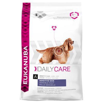 Eukanuba Adult Daily Care Sensitive Skin – Ekonomipack: 2 x 12 kg