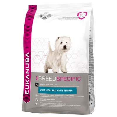 Eukanuba Adult Breed Specific West Highland White Terrier – 2,5 kg