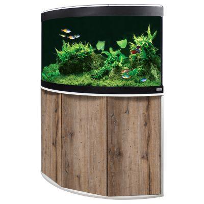 Fluval Aquarium-Eck-Kombination Venezia 190 - schwarz