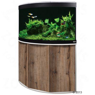 Fluval Venezia 190 -kulma-akvaariopaketti - euroopanpyökki