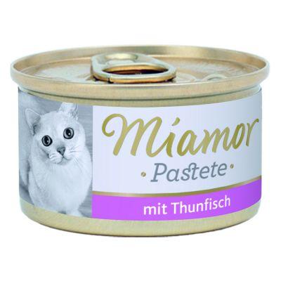 Megapakiet Miamor Pastete, 24 x 85 g - Królik