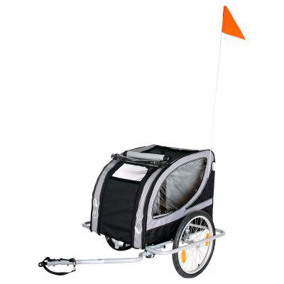 No Limit Doggy Liner Paris de Luxe -peräkärry polkupyörään - P 148 x L 90 x K 88 cm, alle 50 kg