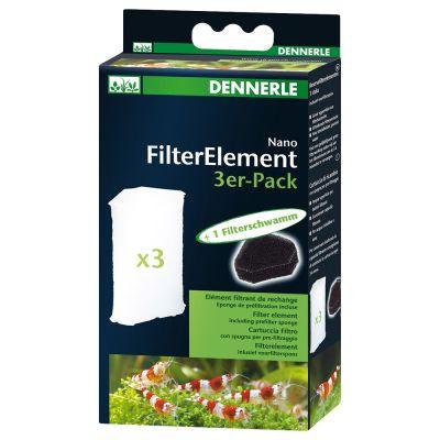 Dennerle Nano FilterElemente - 3er Pack
