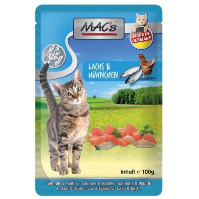 MAC´s Cat 24 x 100 g - Telecí & hovězí