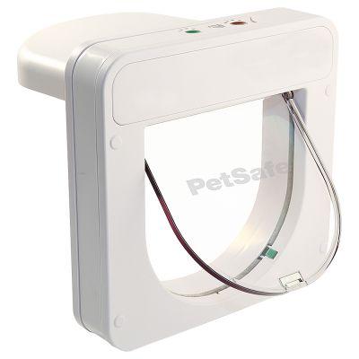 PetSafe PetPorte Smart Flap kattlucka med chip - Kattlucka, vit