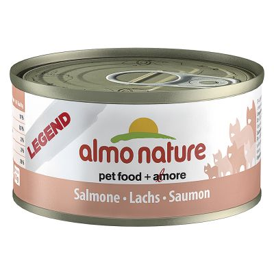 Almo Nature Classic & Legend 6 x 70 g – Tonfisk & babysardiner