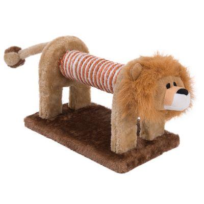 Katzenspielzeug Kratz-Löwe