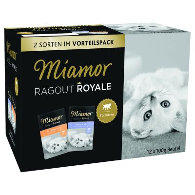 Vorteilspack Miamor Ragout Royale Jelly Kitten 12 x 100 g