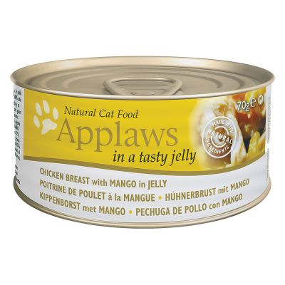 Applaws in Jelly kattfoder 6 x 70 g – Senior: Tonfisk & lax
