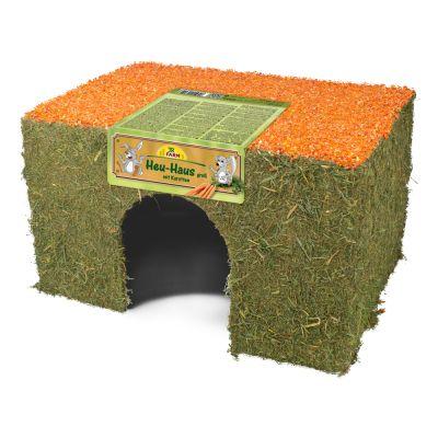 JR Farm, domek z siana i marchewki - Duży, 650 g