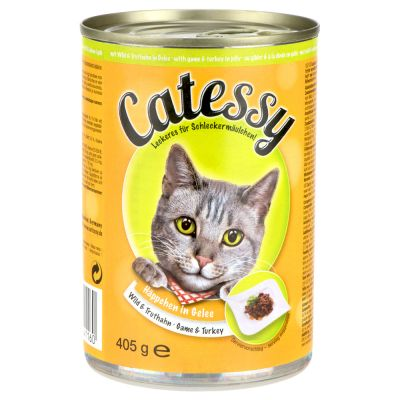 Catessy hyytelöllä 6 x 400 g - nauta