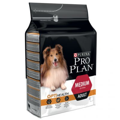 Foto Pro Plan Medium Adult OptiHealth Pollo & Riso - 14 kg + 2,5 kg gratis! Purina Pro Plan Adult